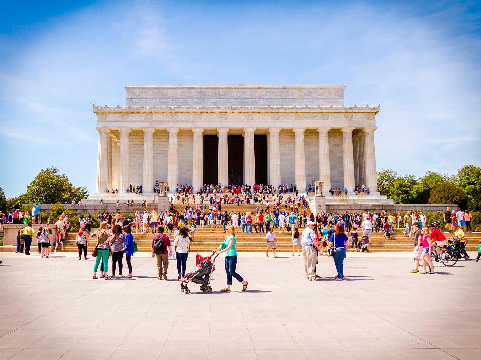 Lincoln Memorial Washington DC, USA.