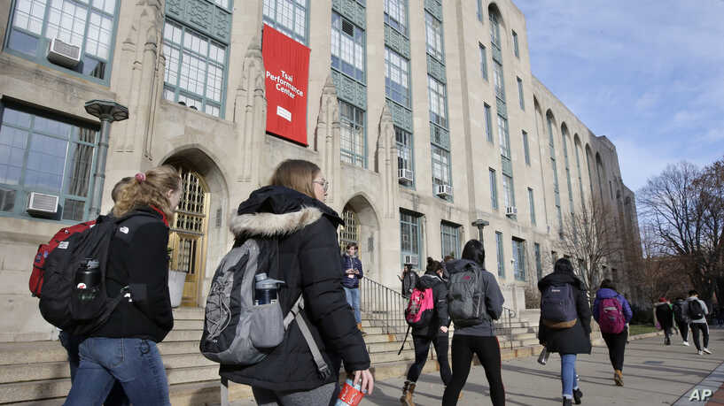 The guidance, first reported by Forbes, would limit international students' stay in the U.S.