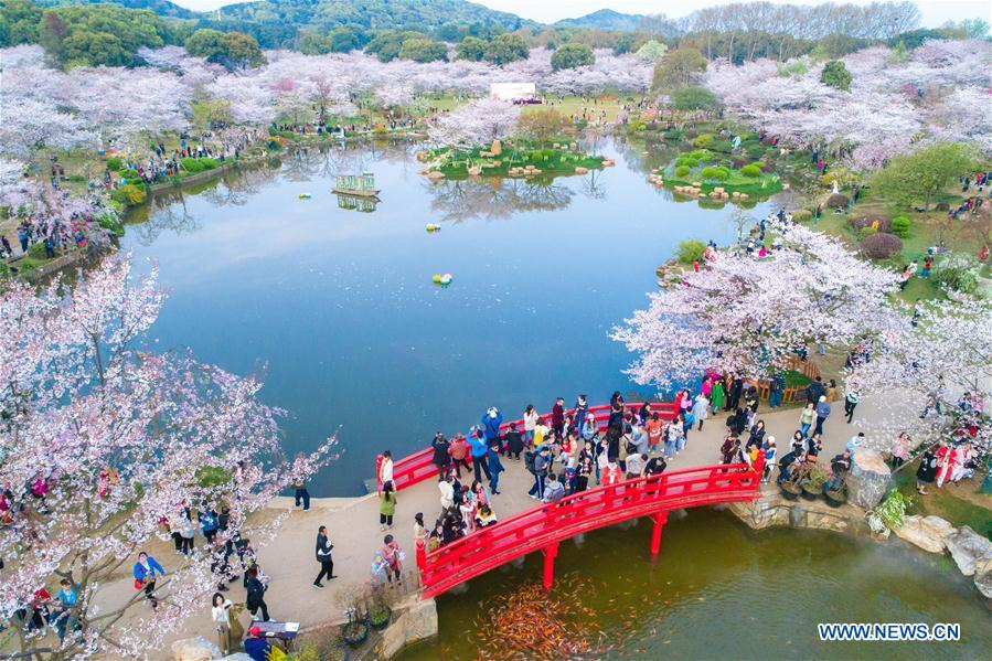 "In April, the number of tourists who made online bookings increased by 300 percent from March,"" said Yu Xiaojiang with Trip.com Group."