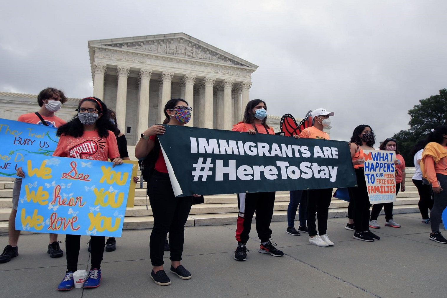 The program was created in 2012 by then-President Barack Obama to supply protections for qualified young immigrants to stay in the country and work or attend school.