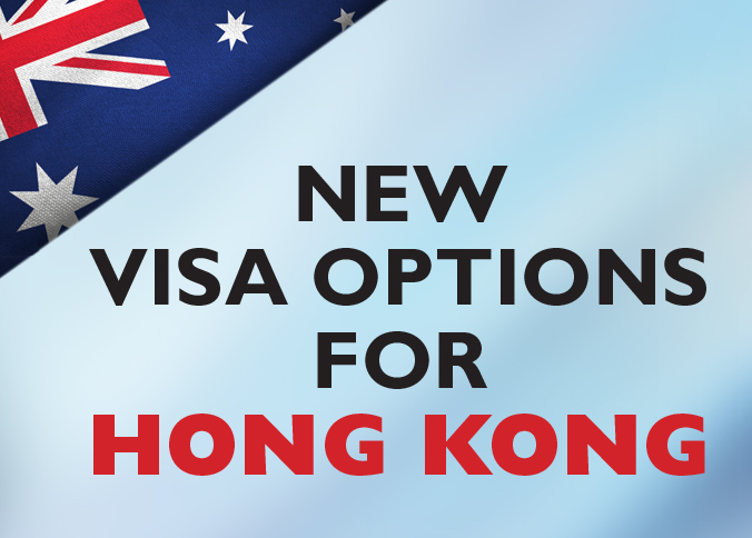 Current and future students from Hong Kong will be eligible for a 5 year temporary graduate visa once they successfully complete eligible tertiary studies.