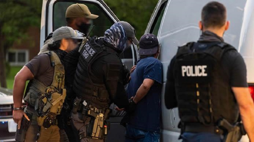 About 85 percent of those arrested by ICE on immigration charges also had criminal convictions or pending criminal charges.