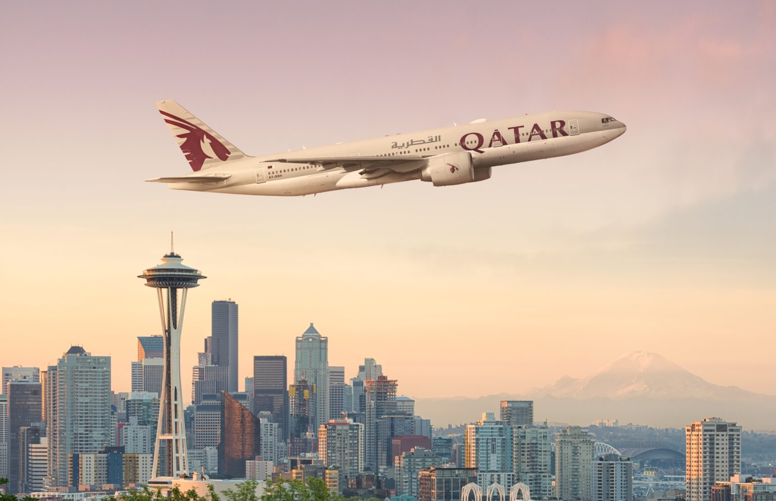 Four weekly flights launch nearly two months ahead of schedule, connecting Seattle with our global network of over 120 destinations via the Best Airport in the Middle East.