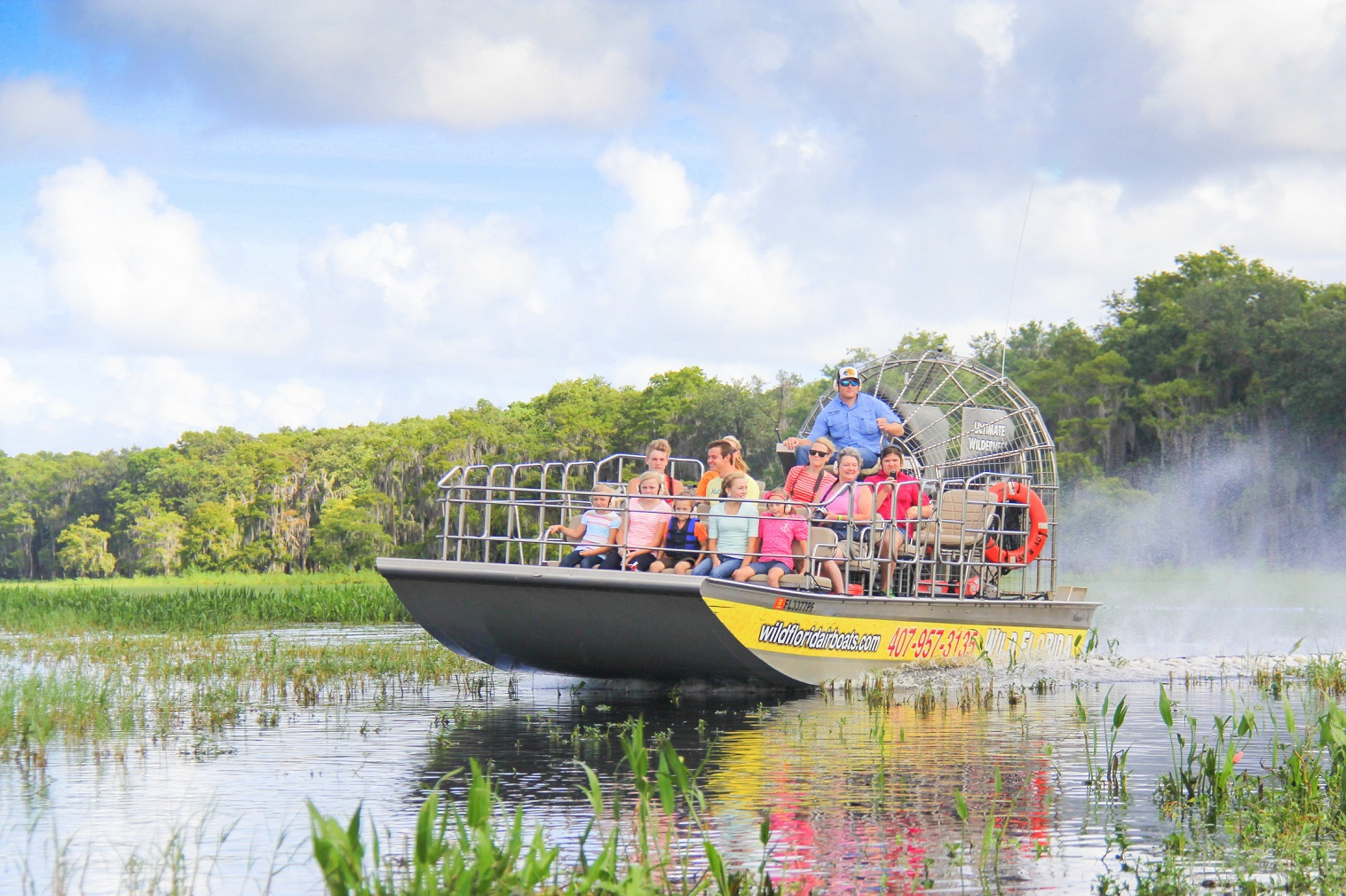 People across the US can now celebrate National Airboat Day on February 19 and National Gator Day on May 29.