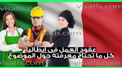 عقود العمل في ايطاليا 2021 – إيطاليا تفتح باب الهجرة عن طريق قانون دكريتو فلوسي