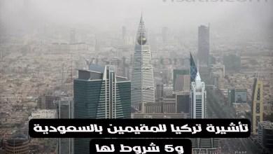 تأشيرة تركيا للمقيمين بالسعودية و5 شروط لها 2021