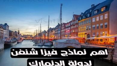 نموذج فيزا شنغن الدنمارك 2021 واهم 4 خطوات لتفادي رفض طلبكم