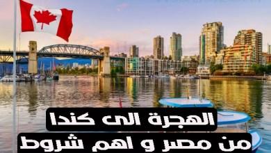 الهجرة الى كندا من مصر 2021 و اهم 7 شروط للهجرة لكندا من مصر