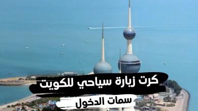 كرت زيارة سياحي للكويت و سمات الدخول