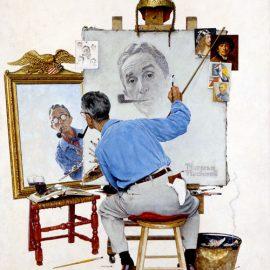 """Triple Self Portrait"", 1960"