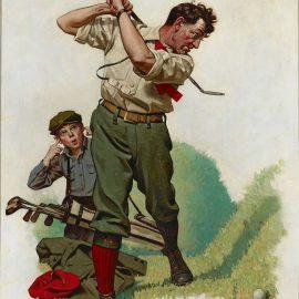 """The Golfer"", 1960"