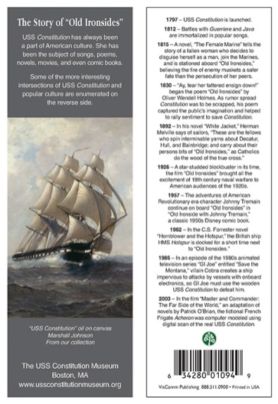 """The Story of """"Old Ironsides"""""""