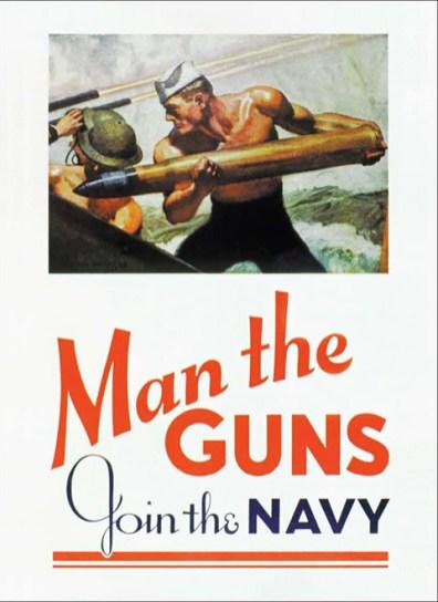 Man The Guns Join The Navy