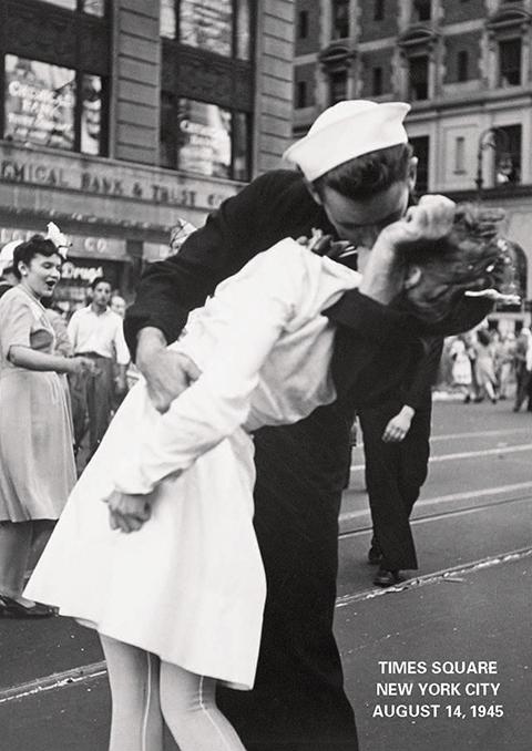 Kiss-Times Square NY
