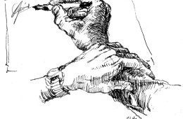 Tegning: Øyvind Rauset