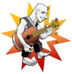 Gitarmaskot