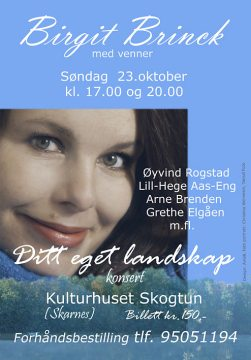Birgit Brinck-plakat