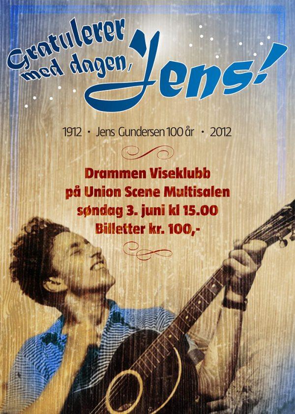 Jens Gundersen-plakat