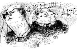 Inhaldslös musik (ill. Øyvind Rauset)