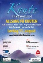 Plakat Allsang på Knuten