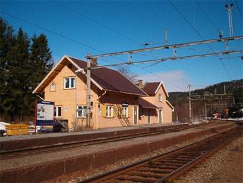 Sandermosen stasjon