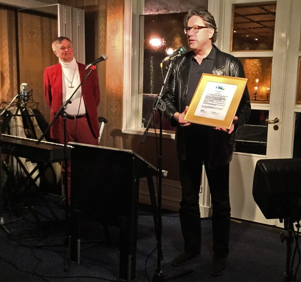 Jan-Olof Andersson mottar Vispriset 2014