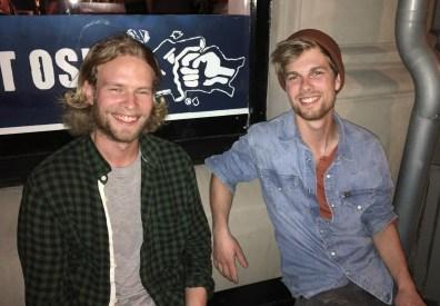 Oskar og Fredrik