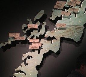 Kart med viseklubber