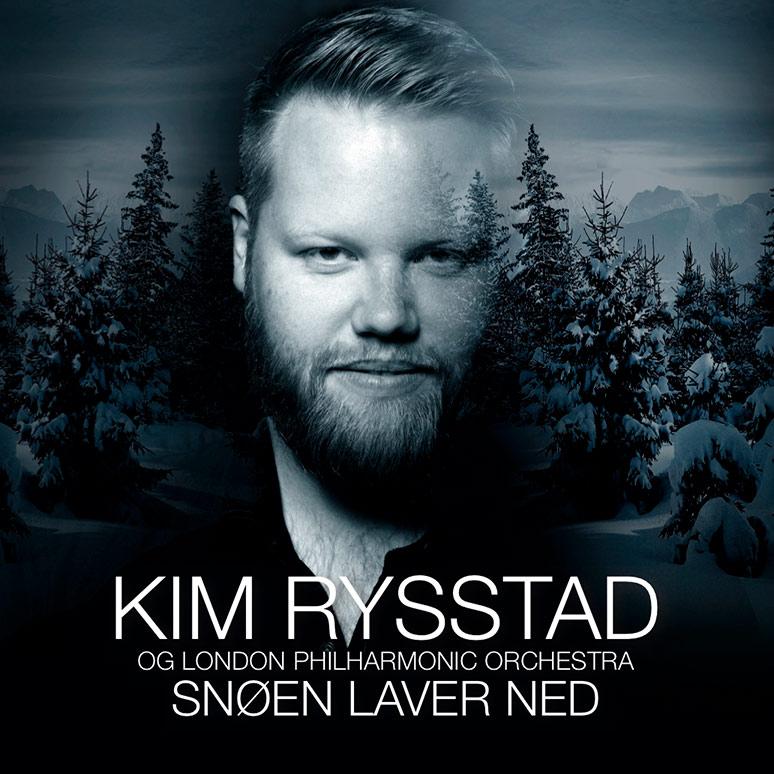 Kim Rysstad og London Philharmonic Orchestra med julealbum