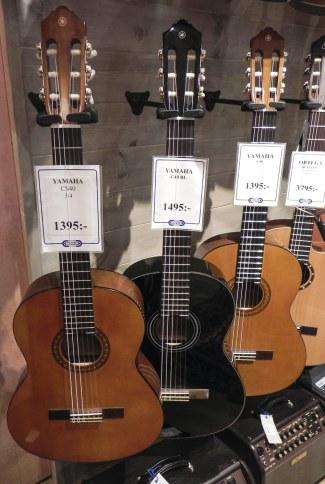 Yamaha-gitarr