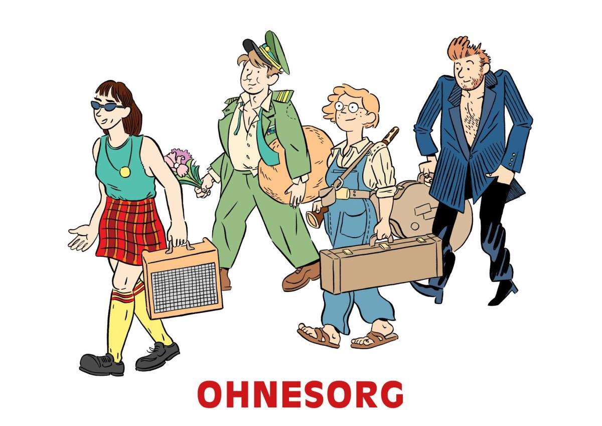 Ohnesorg // Albert og Elise på Bergen Offentlige Bibliotek