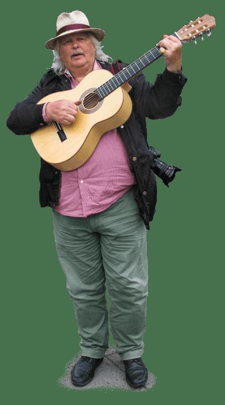 Bengt med gitarren