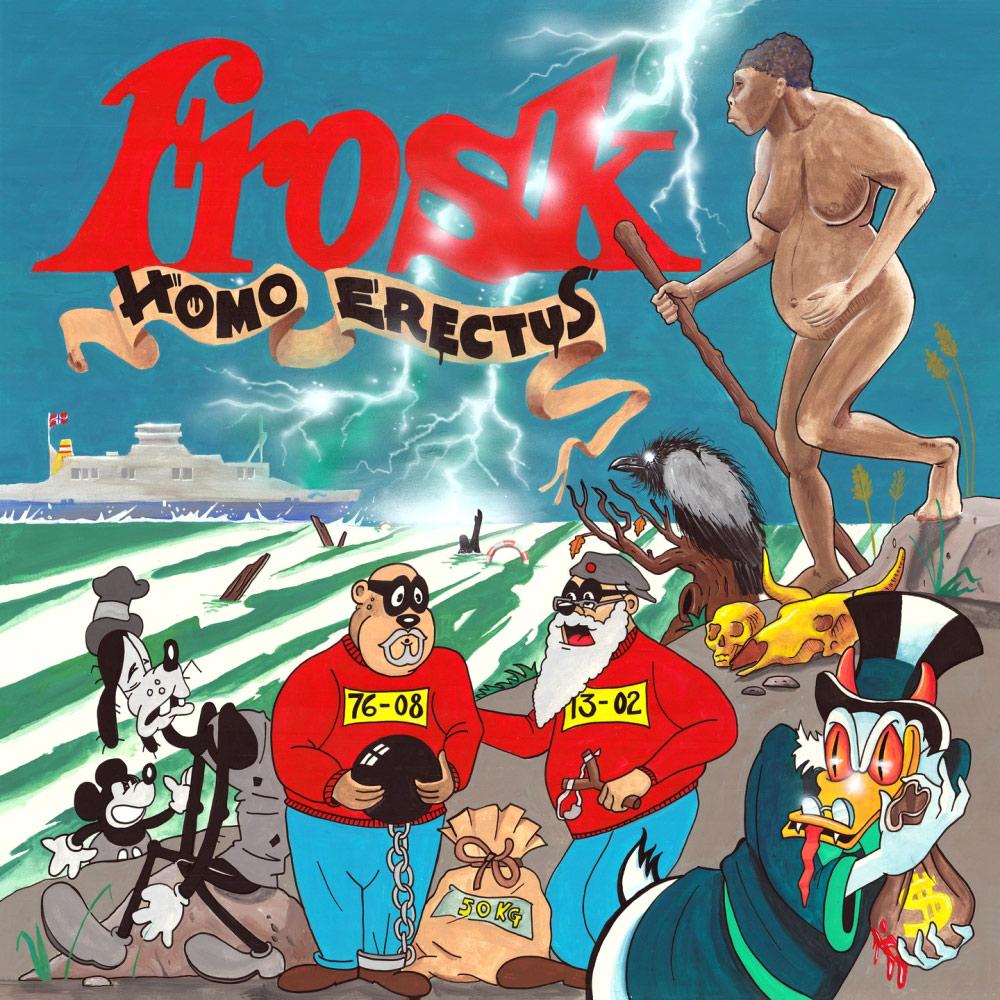 Frosk: Homo Erectus (LP)