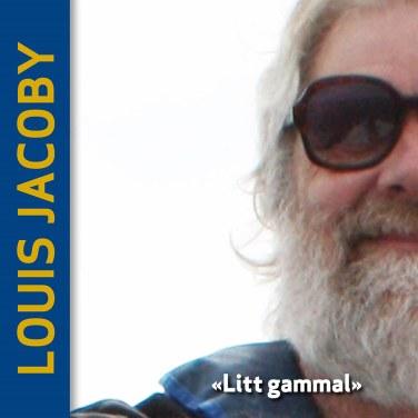 Jacoby: Litt gammal - CD-omslag