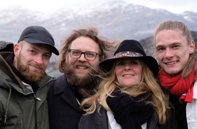 Lone med turnémusikerne i Grønland