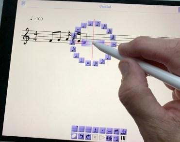Skjermbilde på iPad