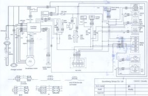 XB600 Wiring Diagram (Groovy) | V is for Voltage