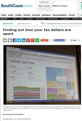 Finding out how your tax dollars are spent