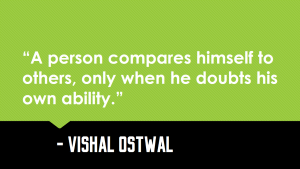 Comparison_doubt_quotes_Vishal_Ostwal