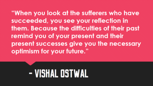 Sufferers_Quote Vishal Ostwal Quote