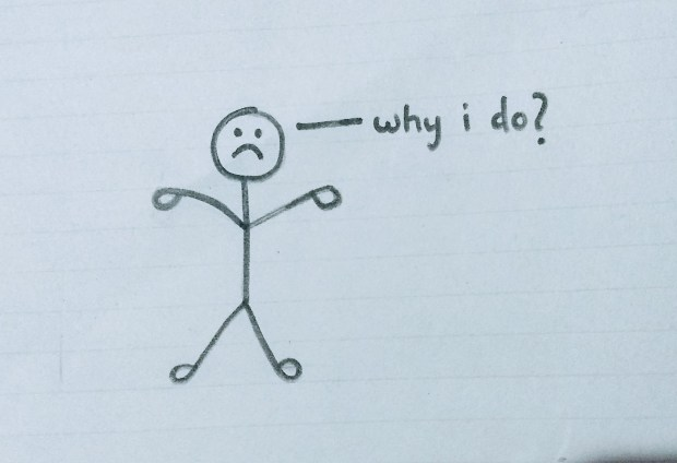 Why am I doing it? - Doodle