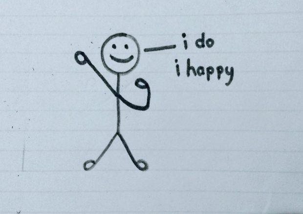 I do Happy - Doodle