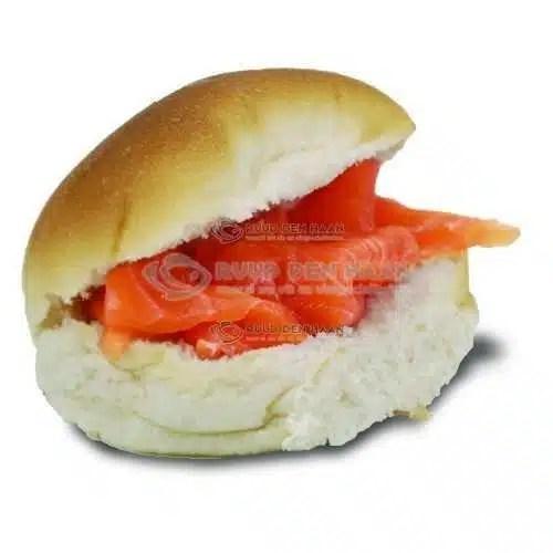 Broodje zalmsnippers