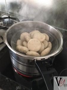 Steaming papdi lot