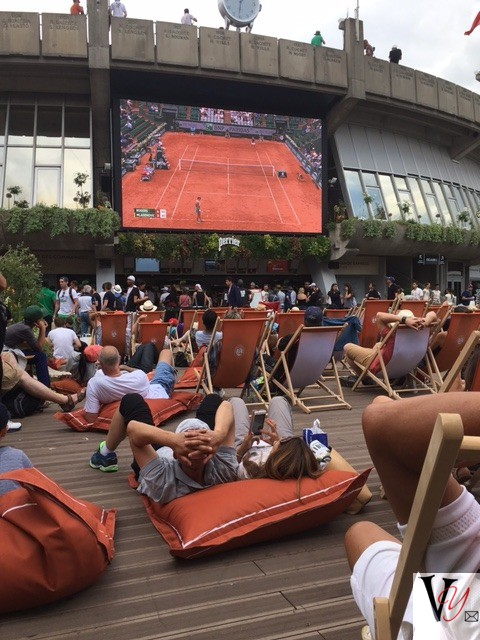 Henman Hill of Roland Garros