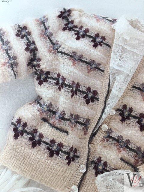 Knitting Pansies