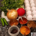 Egg Bhurji Ingredients