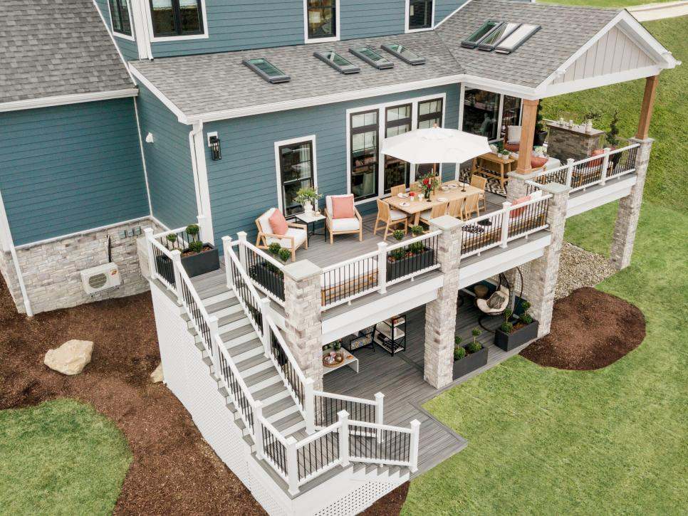 Exterior photos of the HGTV Smart Home