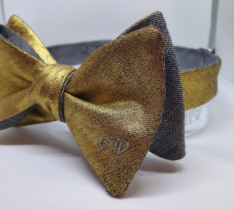 Papillon personalizzato con iniziali