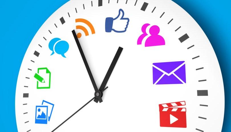 a che ora postare sui social media